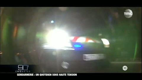 90'Enquêtes : Gendarmerie : un quotidien sous haute tension