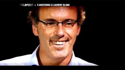 Angleterre-France : 5 questions à Laurent Blanc (14/11/2010)