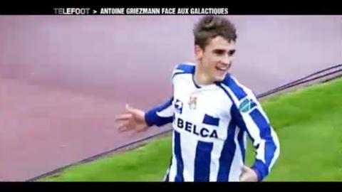 Antoine Griezmann, l'espoir français de la Real Sociedad (19/09/2010)