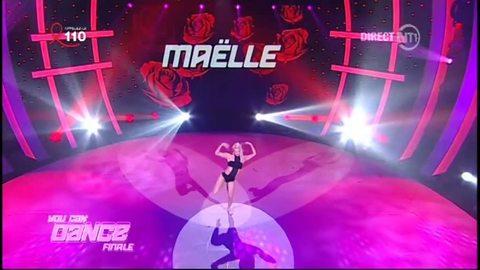 Danse solo de Maëlle sur Hotel Costes