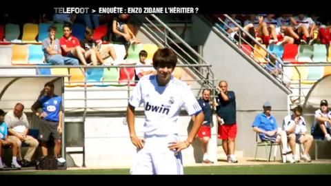 Enzo Zidane, un joueur pas comme les autres (19/09/2010)