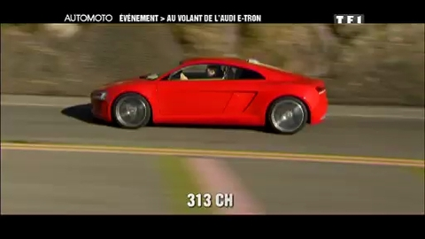 Essai : Audi E-Tron automoto.fr (10/01/2010)