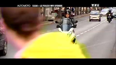 Essai Scooter : Piaggio MP3 Hybrid - Automoto.fr – 27/09/2009