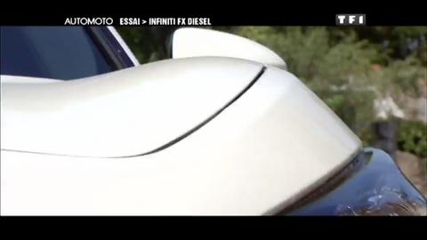 Essai vidéo : Infiniti FX30 Diesel (22/08/2010)
