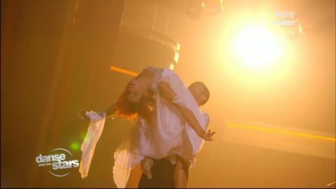 Danse avec les stars - Prestation d'Emmanuel Moire et Fauve Hautot le 13 octobre 2012