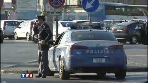 Vidéo Un Français arrêté à Naples avec un kit pour explosifs