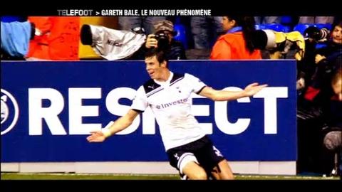 Gareth Bale, le phénomène de Tottenham (28/11/2010)