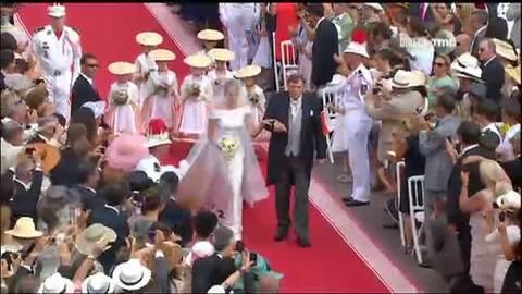Mariage Princier à Monaco : Sortie de Charlène