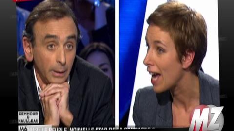 """Morandini Zap/Clémentine Autain: """"Vous devriez fumer un pétard ! Détendez-vous Monsieur Zemmour"""""""