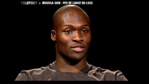 Moussa Sow, le buteur du LOSC (19/12/2010)