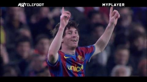 Myplayer Lionel Messi spécial Ligue des Champions - 23 Mai 2010