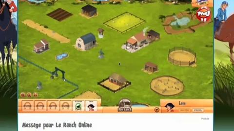 Le nouveau jeu du Ranch Online sur TFou.fr !