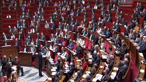 """""""Race blanche"""" : la réponse de Valls à une députée noire à l'Assemblée"""