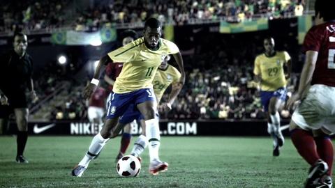 Robinho, star du Brésil - Publicité Nike (Teaser)