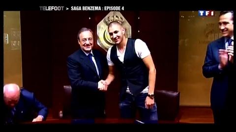 La saga Benzema : Episode 4 - Benzema, Aulas et Perez - (17/01/2010)