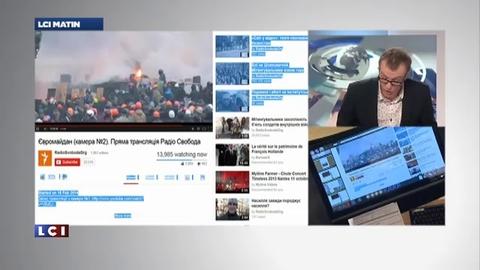 Les évènements à kiev sont suivis par les internautes qui peuvent